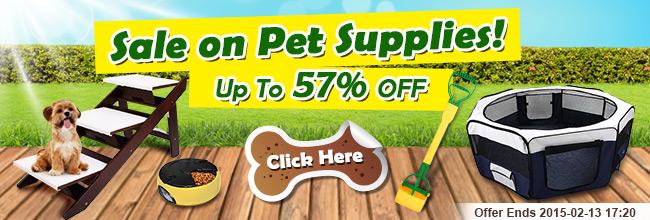 Save up to 57% off pet supplies sale at Crazysales.com.au